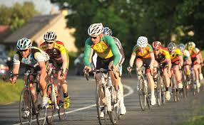 A long-distance cycling race is a good example of muscular endurance.