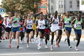 Running a marathon is a great example of cardiovascular endurance.